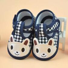 Newborn Girl Boy Soft Sole Crib Toddler Shoes Canvas Sneaker Anti-slip design UK