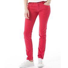 New Ladies Skinny Corduroy Pants/Jeans - GB   - Adidas NEO - Bright Pink