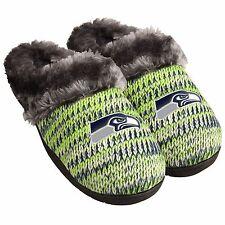 Seattle Seahawks Slippers Logo NEW Womens Slide House shoes! Peak slide
