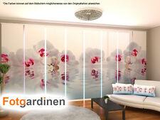 Fotogardinen Orchidee, Schiebevorhang, Schiebegardinen 3D Fotodruck, auf Maß
