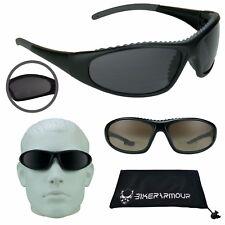 Motorcycle Biker Bifocal Wind Safety Glasses Top Foam Cushion Readers Men