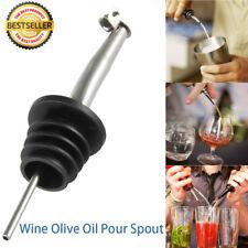 4 x wieder verschließbaren Edelstahl Weinausgießer Flaschenverschlüsse Ölfluss