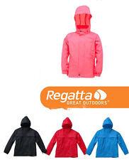 Regatta Boys Girls Kids Packaway Waterproof Breathable Jacket