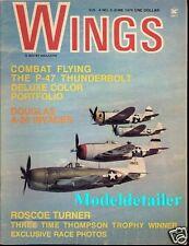 Wings Magazine V4 N3, P-47 Thunderbolt Douglas A-26 Invader Roscoe Turner