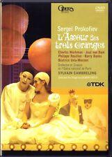 DVD: PROKOFIEV Love for Three Oranges JOSE VAN DAM CAMBRELING L'Amour des trois