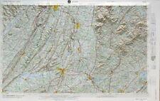 Rome Usgs Regional 3D Raised Relief Map in Al, Ga, Tn, Nc