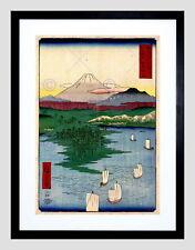 87049 JAPANESE WOODBLOCK NOGE AND YOKOHAMA NEW Decor WALL PRINT POSTER CA