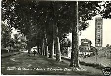 LUCCA - LE MURA - ABSIDE E CAMPANILE 1959