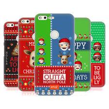 OFFICIAL EMOJI UGLY CHRISTMAS HARD BACK CASE FOR GOOGLE PHONES