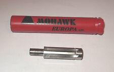 "EUROPA MOHAWK SHORT PILOTED PARALLEL SHANK REAMER 7/16""  AIRCRAFT TOOLS"