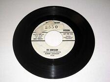 45 rpm BUBBER JOHNSON I'm Confessin'/Finger Tips KING Sample