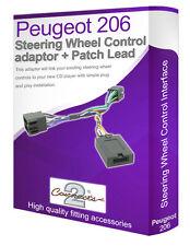 PEUGEOT 206 stereo auto adattatore lead, collegare il volante stelo controlli