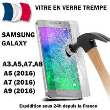 Vitre verre trempé protection film écran Samsung A3/A5/A6/A8/J3/J5/J7/J6 S7/S6/5