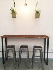 Petit déjeuner bar table/table de bistrot/poseur table/reclaimed table en bois/sur mesure