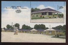 Postcard ONEIDA TN Scott Motel View 1940's