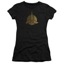 STAR TREK DISCOVERY TRIQUENTRA Lic. Women & Junior Tee Shirt and V-Neck SM-2XL