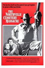 THE NORTHVILLE CEMETERY MASSACRE Movie Poster RARE Horror