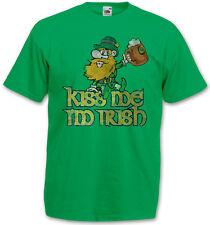 KISS ME I´M IRISH VINTAGE T-SHIRT - Ireland Irland Beer Fun Belfast Dublin Shirt