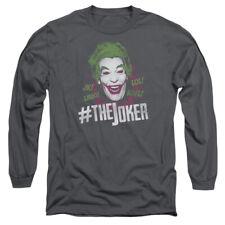 BATMAN CLASSIC TV #JOKER T-Shirt Men's Long Sleeve