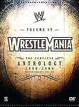WWE WrestleMania: The Complete Anthology, Vol. IV, 2000-2004 5 CD set. Used