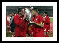 Steven Gerrard & Jamie Carragher Liverpool 2005 CHAMPIONS LEAGUE FINALE FOTO