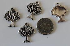 10, 25 ou 50 tibetan silver arbre de vie pendentif charmes - 16x21mm