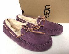 UGG Australia DAKOTA Mystic Purple SHEEPSKIN MOCCASIN SLIPPERS 5612 Women's