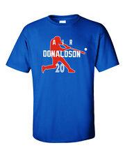 "Josh Donaldson Toronto Blue Jays ""Air Donaldson"" Jersey T-shirt  S-5XL"