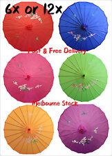 Bulk Sale Parasol Umbrella Japanese Chinese Umbrella Bamboo Pattern D80cm Book w