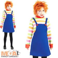 Il Male Pupazzo Bambola Bambina Costume Halloween Horror per bambini Costume Outfit