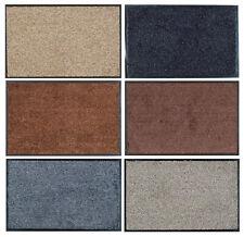 Indoor Scraper Mat Hardwearing Anti Slip Back Machine Washable Washamat Doormat
