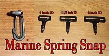 "Plastic Marine Spring Snap-1""-1 1/2"" or 2"" Webbing Size-HEAVY DUTY Bulk Prices"