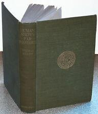 Human Shows Far Phantasies Songs, and Trifles by Thomas Hardy/MacMillan, 1925