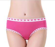 Black Pink Blue Ivory Red Heart love valentine's day Bikini SISSY Panties