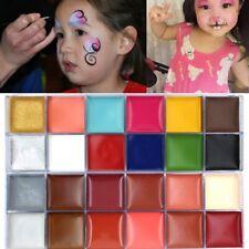 12 Colors Face Body Paint Oil Art Make Up Set Halloween Party Fancy DIY Painting