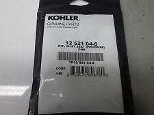 KOHLER INLET NEEDLE SEAT KIT FOR FUEL PUMP CARBS  PART# 12-521-04-S