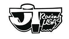 JT RACING sticker X2 PAIR motocross twinshock vinduro bmx enduro