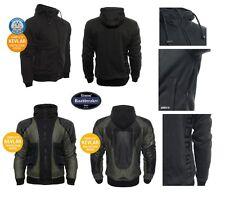 Bores Safety 3 Coton Hoodie, Pullover à capuche imperméable, indéchirable