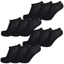 Fila 12 Pair Socks, Invisible Sneakers Unisex, Plain, 35-46 (4x 3er Pack)