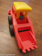 Scavatrice escavatore digger JEAN made in western germany vintage toy scavatore