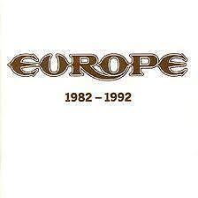 EUROPE 1982 - 1992 CD 1993