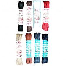 45 cm Flat Lacci delle Scarpe, Lacci Stivale Scelta di Colori