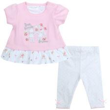 Bambini/Ragazze Ditsy Coniglietto 2 Pezzi Top e Leggings Set ~ Neonato - 2 Anni