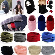 Unisex Winter BALACLAVA Thermal Beanie Ski Head Mask Hats Warm Bike Hood Earflap