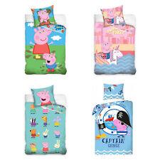 Peppa Pig Children Bedding Bed Cover Piggy Peppa 135/55 1/8/63x78 11/16in