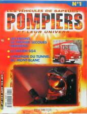 LES VEHICULES DE SAPEURS POMPIERS COLLECTION HACHETTE