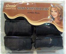 "Satin Foam Hair Rollers culer no Hair Breakage jumbo 1 1/2 diameter""x 2 1/2 inch"