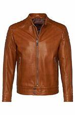 US Men Leather Jacket Hommes veste cuir Herren Lederjacke chaqueta cuero R116b