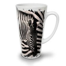 Safari Zebra Head NEW White Tea Coffee Latte Mug 12 17 oz | Wellcoda