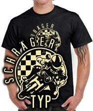 Motociclisti Fun T-shirt trasversalmente sulle spalle tipo Superbike TUNING MOTO GP Motivo Biker